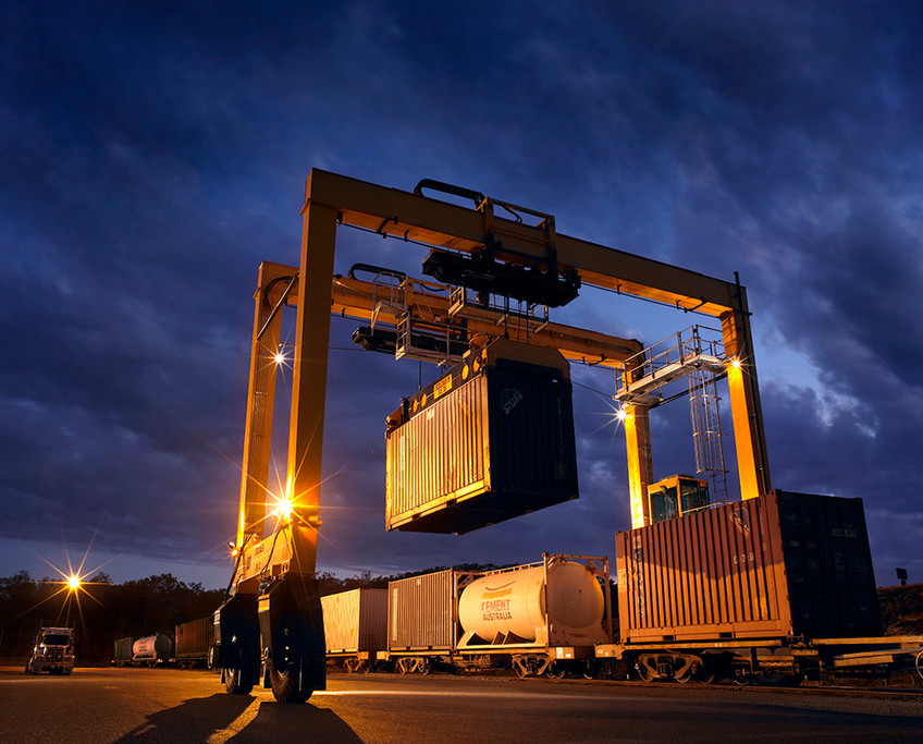 Gantry Crane - QLD Rail