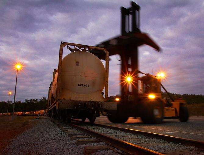 Mt Miller - QLD Rail