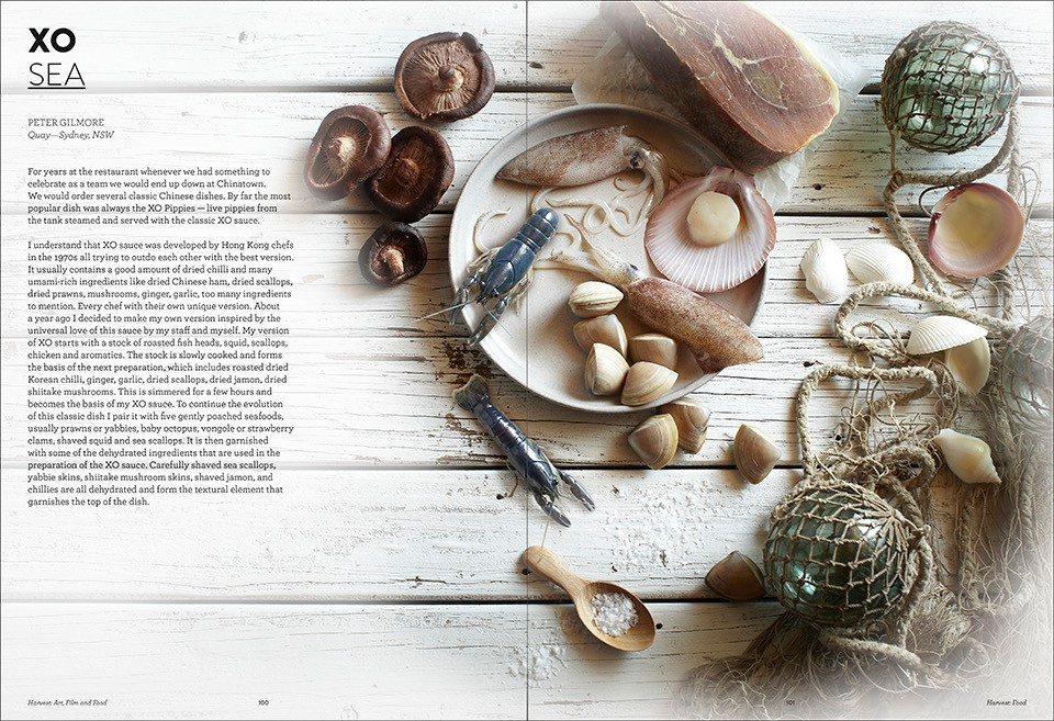 Harvest GOMA - Peter Gilmore Xo Sea
