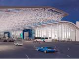 Charlotte Airport Terminal Lobby
