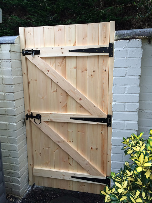 MADE TO MEASURE GARDEN GATE 1800MM STRAIGHT TOP