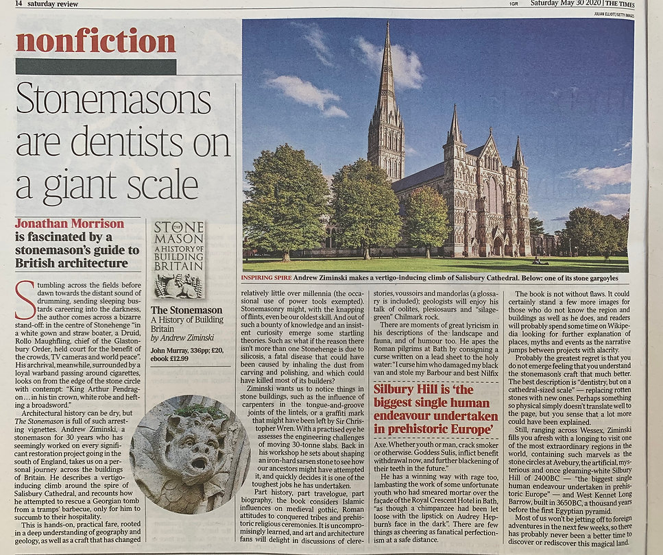 Book Review - The Times.