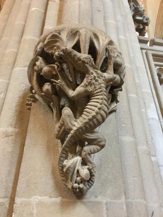Wells Cathedral, Salamander