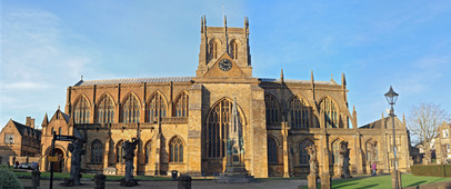 Sherborne Abbey, known as the Cathedral of Dorset.