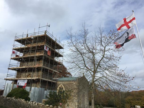 Yarlington Church,Somerset during repairs.2c.jpg