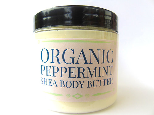Organic Peppermint Shea Body Butter