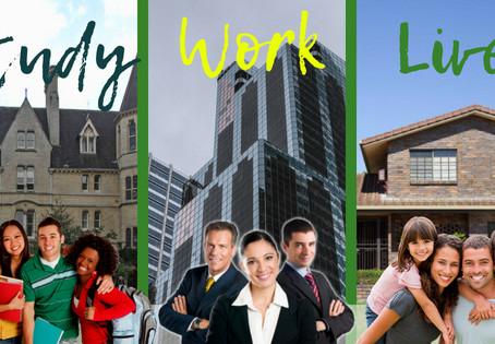 Study-Work-Live in AU!
