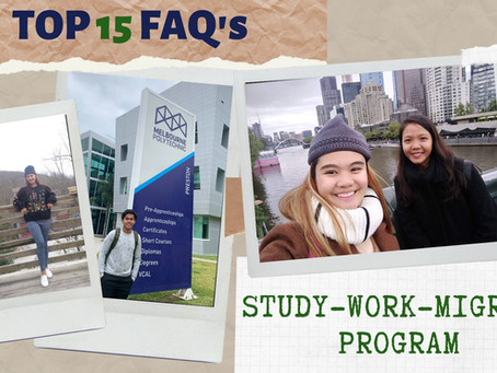 Study-Work-Migrate Program TOP 15 FAQ's