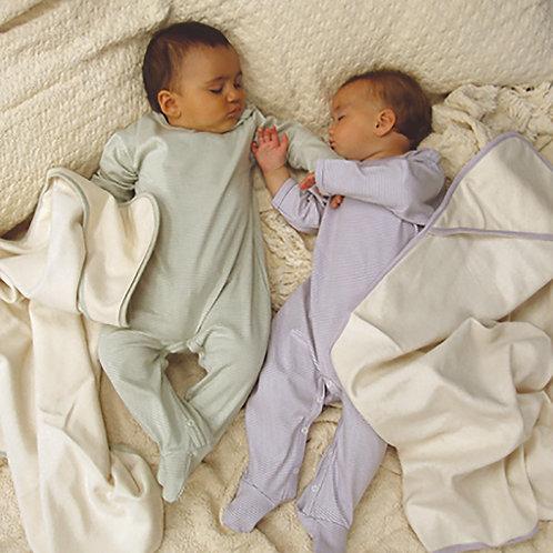 Organic Cotton Baby Footies