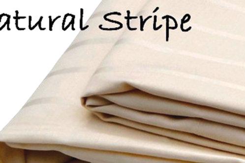 Organic Cotton Natural Stripe Sheets