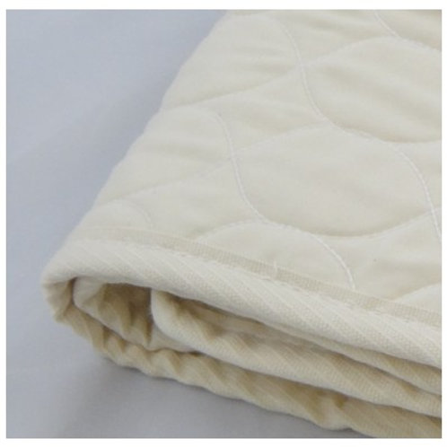 Organic Cotton Crib Quilted Mattress Pad