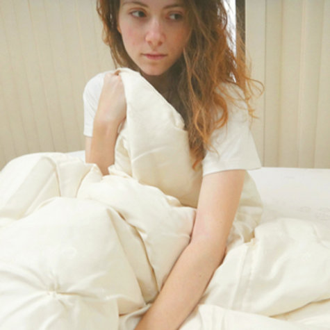 Organic Cotton Wool Duvet Comforter With Girl