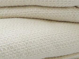 Organic Cotton Waffle Weave Blanket