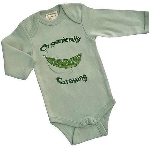 Organic Cotton Baby Bodysuit Onesie 3-6m