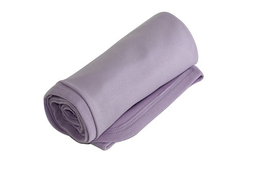 Organic Cotton Baby Receiving Blanket Lavender
