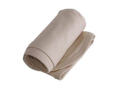 Organic Cotton Baby Receiving Blanket Natural