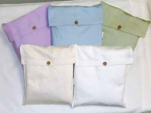 Organic Cotton White Sheets