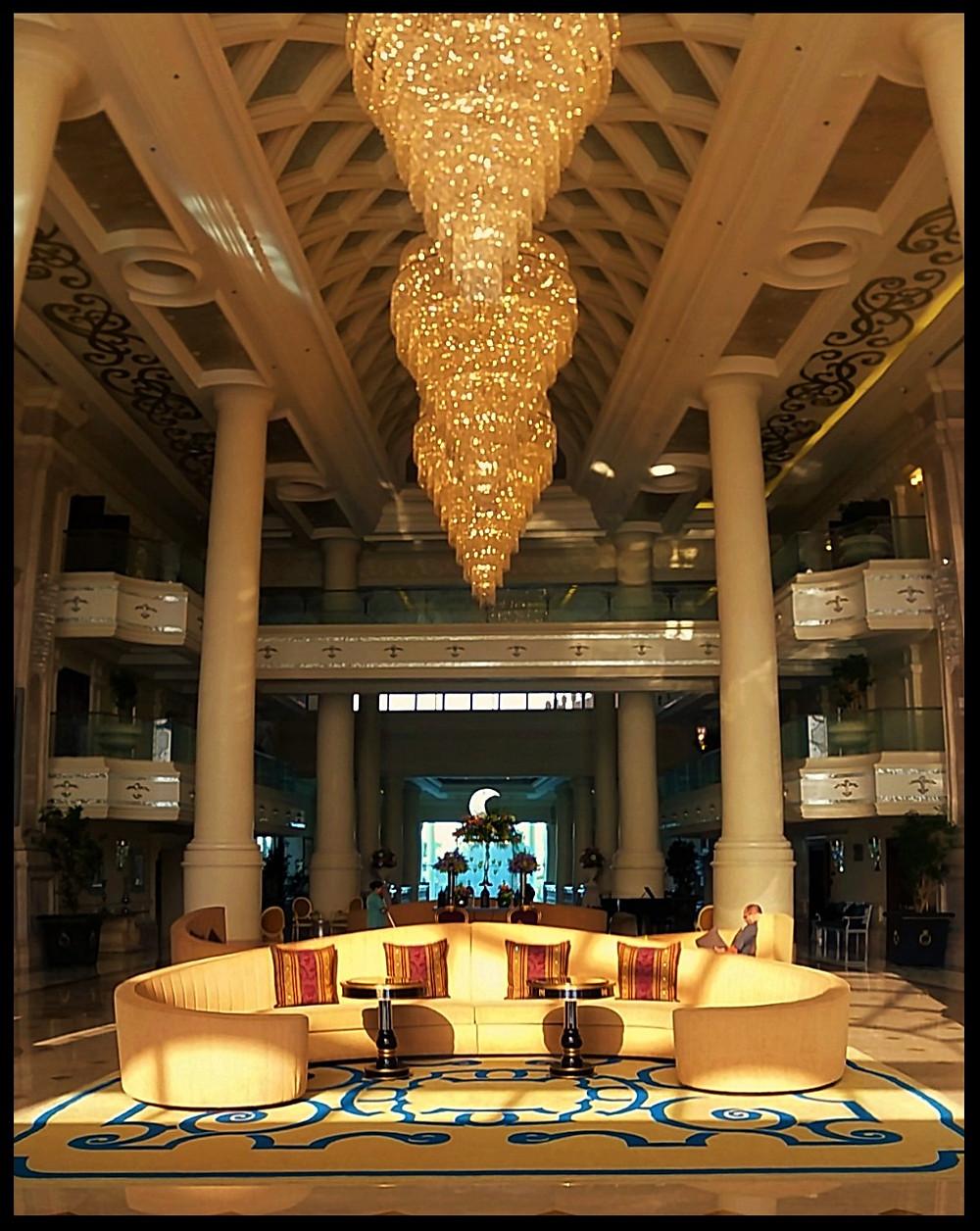 Ritz-Carlton Abu Dhabi Main Entrance