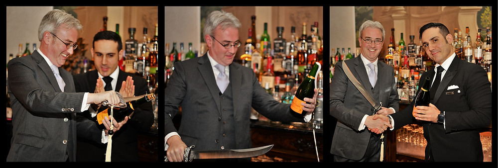 Christian Pampo, Bar Manager - Champagne Sabering Ritual, St. Regis Florence