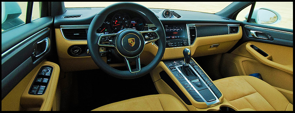 Porsche Macan Sports Car Heritage Interior