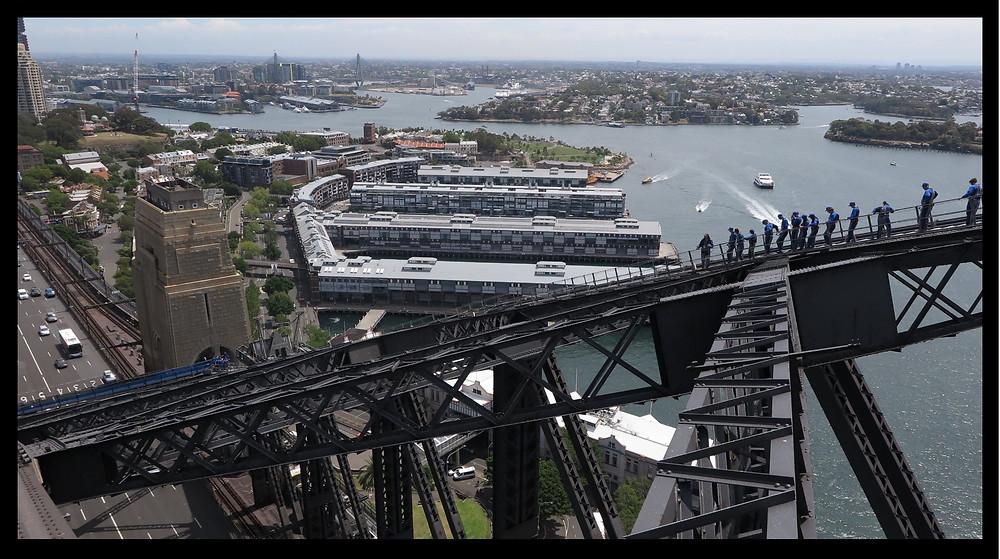 BridgeClimb Sydney - On The Way Down