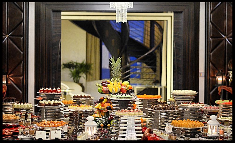 Iftar in the Sky - Dessert Room - St. Regis Abu Dhabi