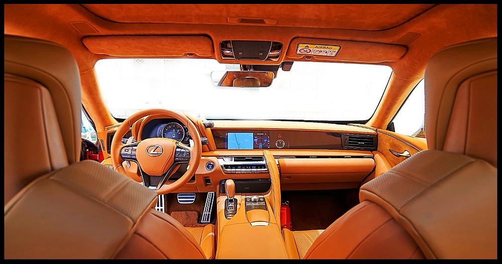 Lexus LC500h Interior and Dash