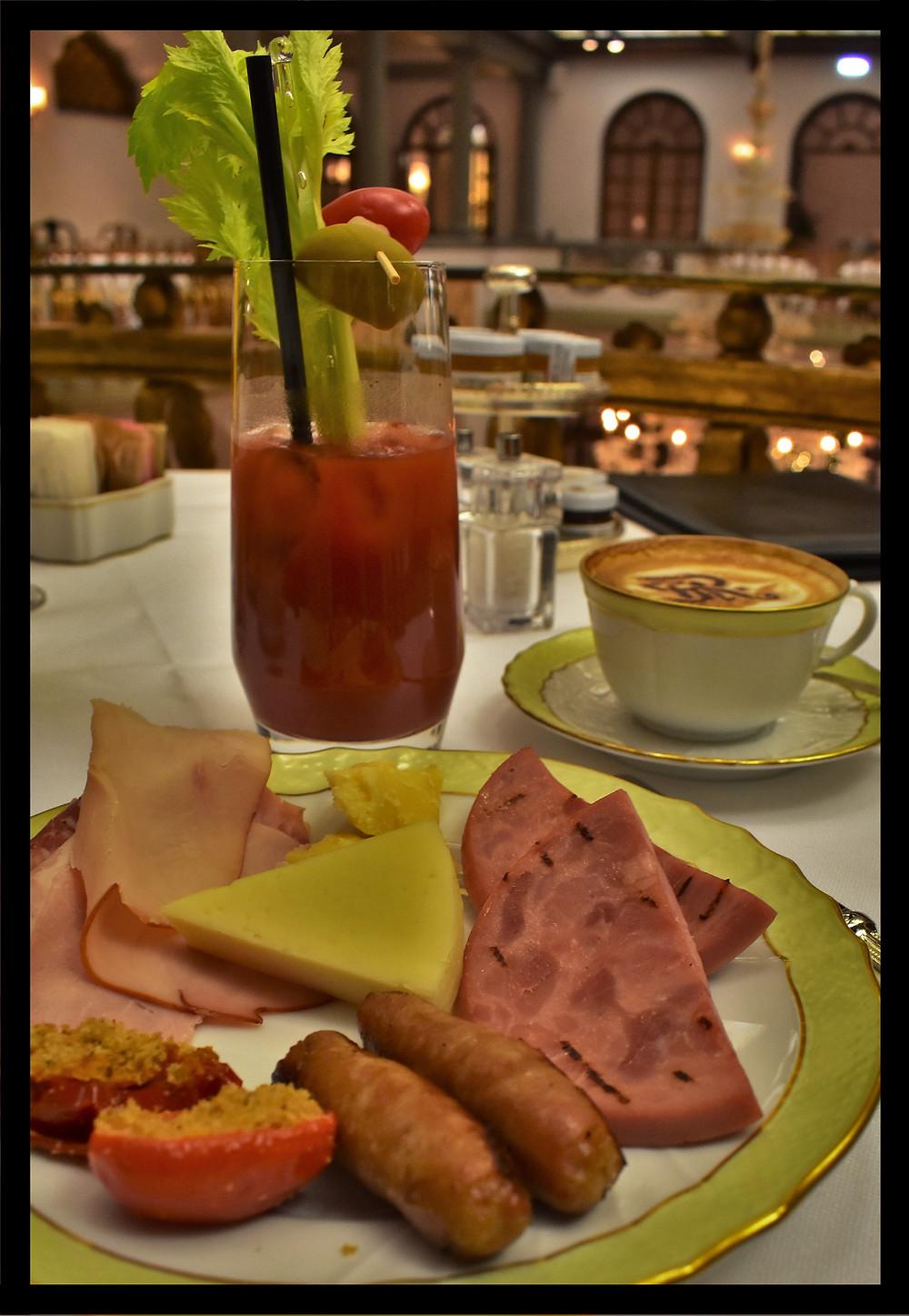 Bloody Mary Breakfast - Winter Garden, St. Regis - Florence