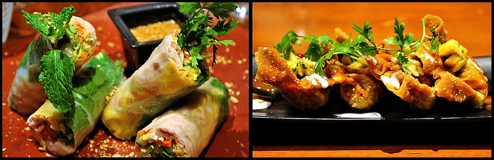 Appetizers at Li Jiang - Ritz-Carlton Abu Dhabi