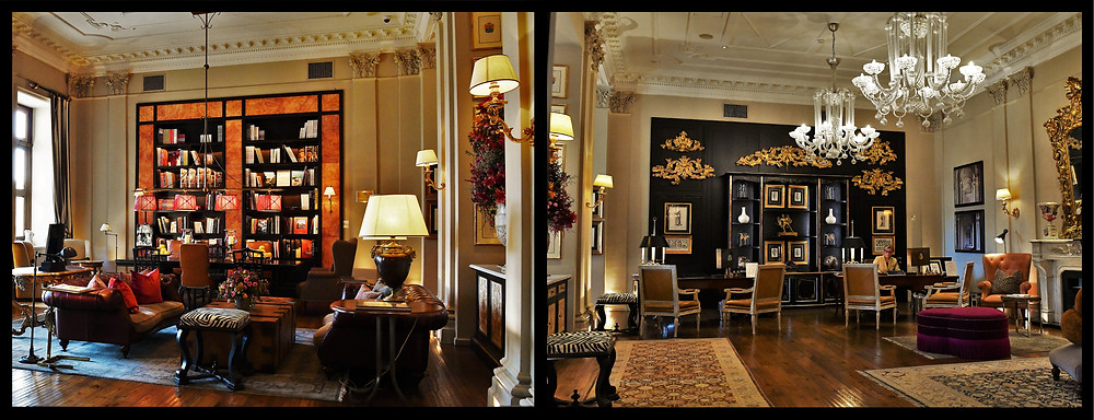Front Sitting Room & Check In - St. Regis, Florence