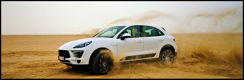 Porsche Macan Salt Flat Speed