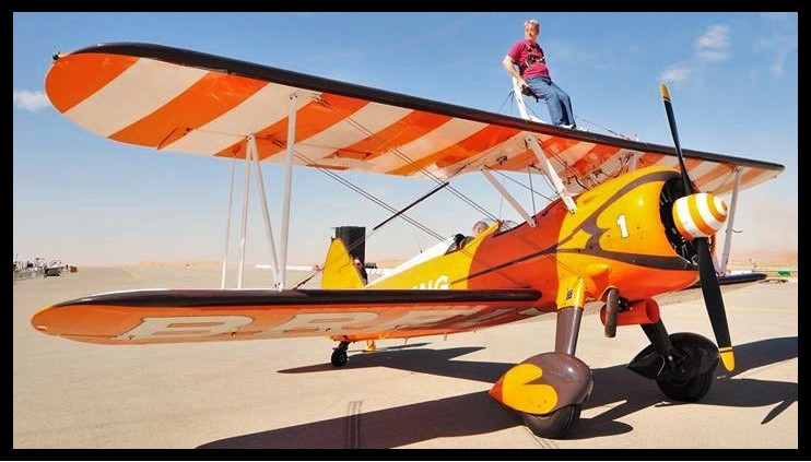 Ready for Take-Off with AeroSuperBatics (The Breitling Wingwalkers)