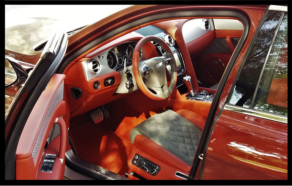Luxury Interior - Bentley Flying Spur
