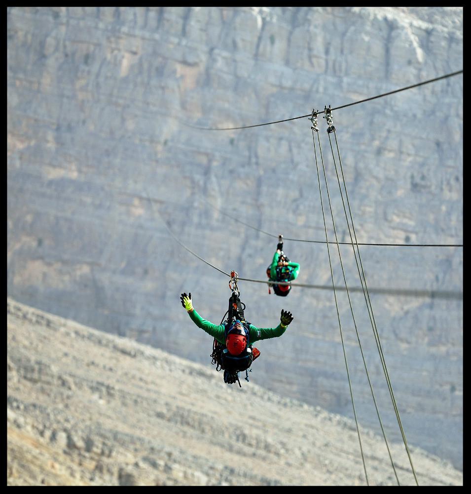 Longest Zipline in the world - Toroverde UAE, Ras Al Khaimah