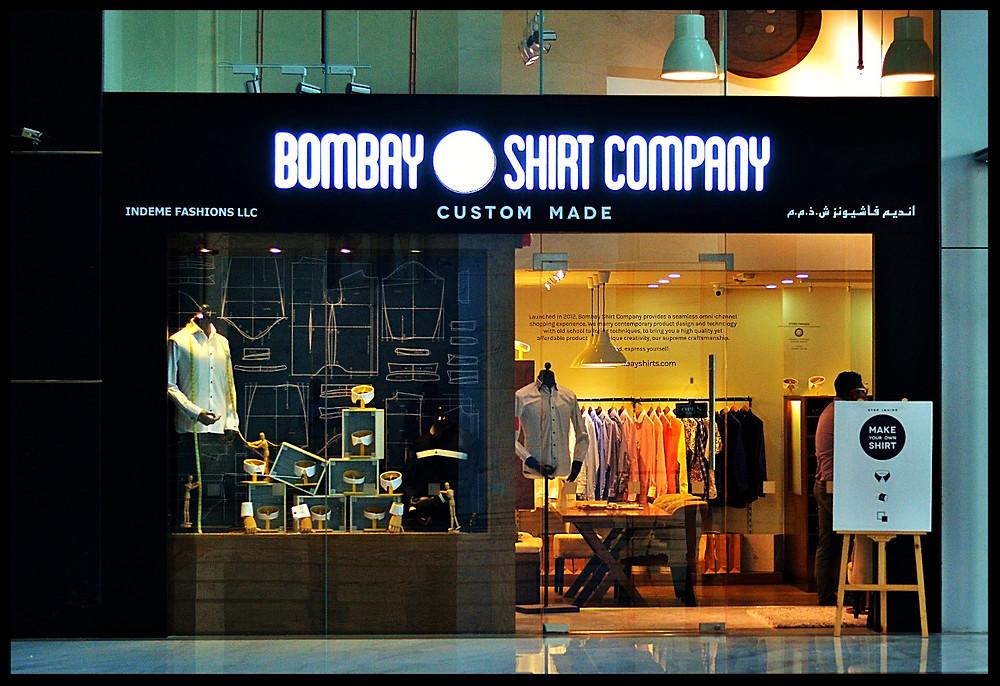 Bombay Shirt Company, DIFC Dubai