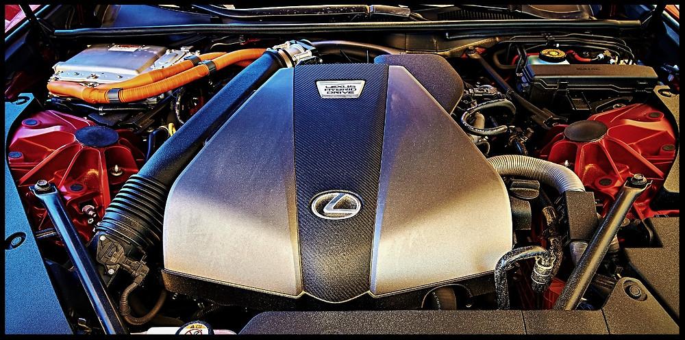Lexus LC500h 354 Horsepower V6