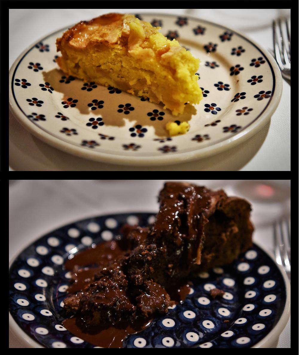 Desserts - Trattoria 13 Gobbi Florence, Italy