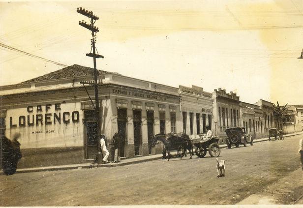 41. Rua d. Pedro II. Decada de 1950. Dat