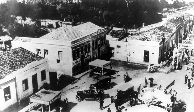 1. Praça Teresa Cristina, decadas 1940-1