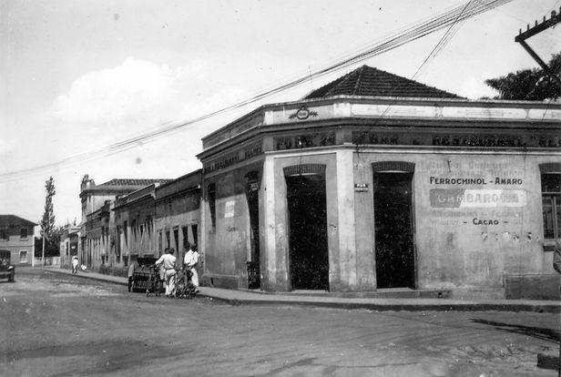 42. Rua d. Pedro II, decada de 1950. Ao