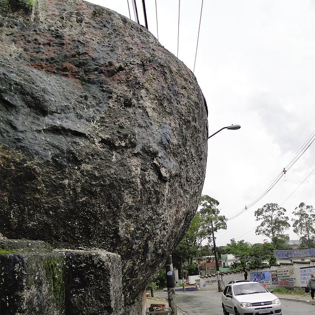 3. Rocha granitica do Bairo dos Pimentas