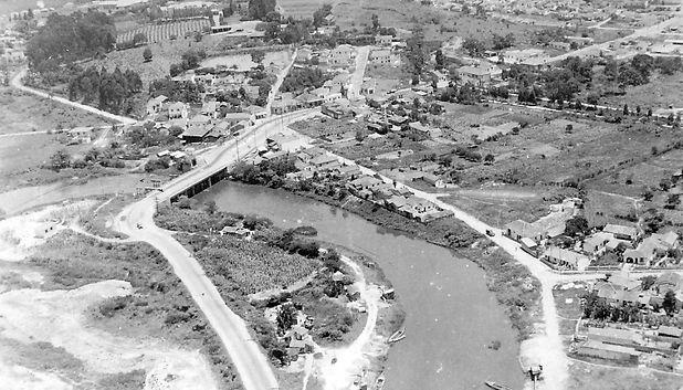 66. Rio Tietê, divisa Ponte Grande com a