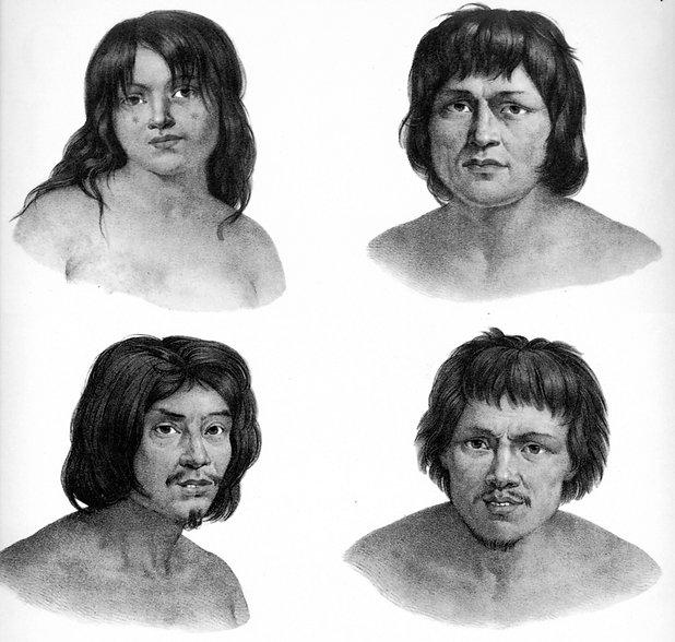 13. Grupo Purí, aparentando os Moromomi.