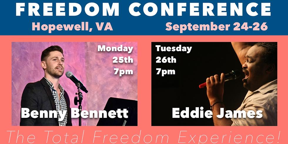 Freedom Conference 2017 w/ Eddie James   Hopewell, VA