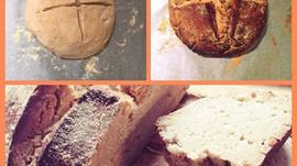 Recipe: Gluten free bread with naturally made fruit yeast