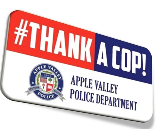 Thank a cop