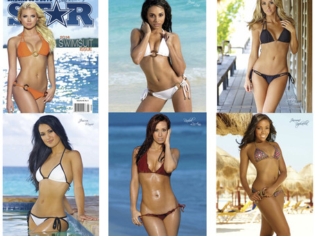 Congratulations to our Client On securing the cover of the Dallas Cowboys Star 2014 SwiMSUIT ISSUE