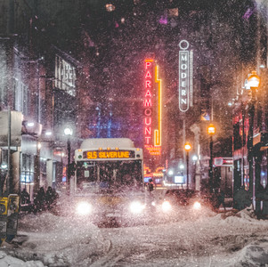 Boston snowstorm