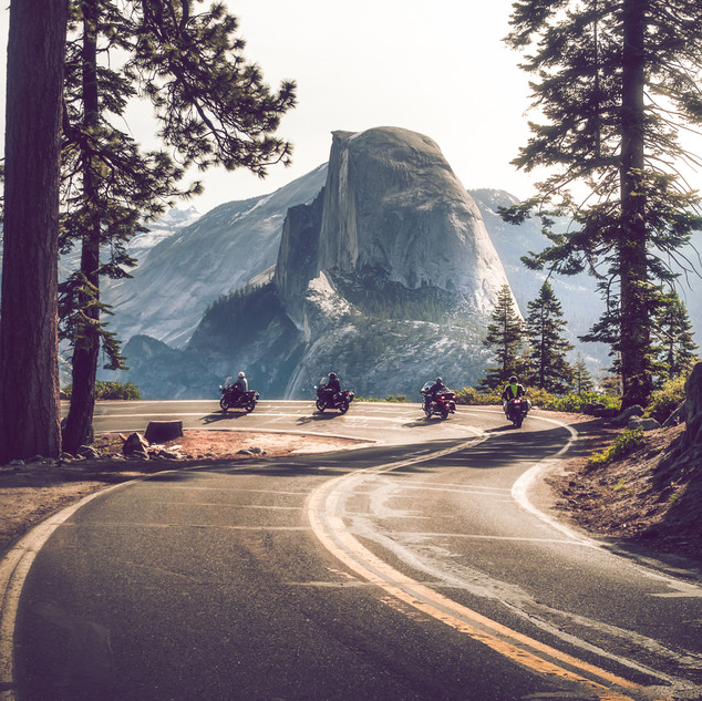 Glacier Point, Yosemite Park