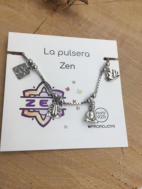 Pulsera Zen en Plata de Ley